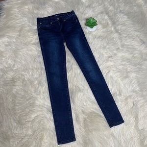 7 For All Mankind The Skinny Denim Jeans Size 14 G